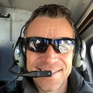 Corey Hinde in Helicopter | SEO NZ