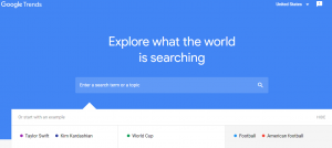 Google Trends - a great free Google Tool